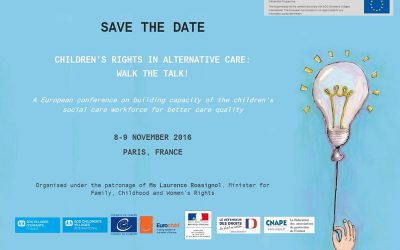Fairstart attends Eurochild's ''Children's Rights in Alternative Care''-conference in Paris