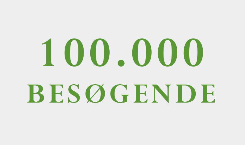 100.000 besøgende