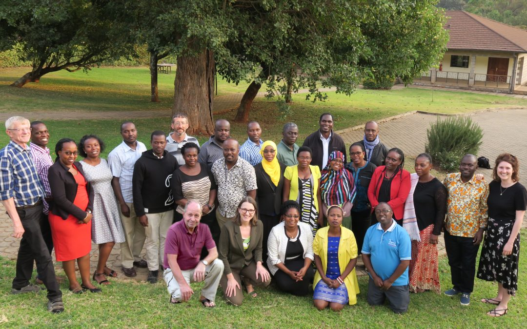 Inspiring Introduction Seminar in Nairobi with 27 participants