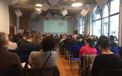 Fairstart at the EUROCHILD Conference in Brussels