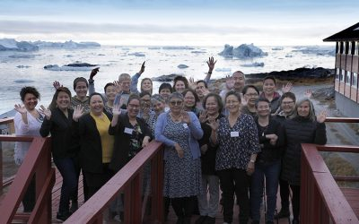 Inspirerende Startseminar i Ilulissat med 23 instruktører