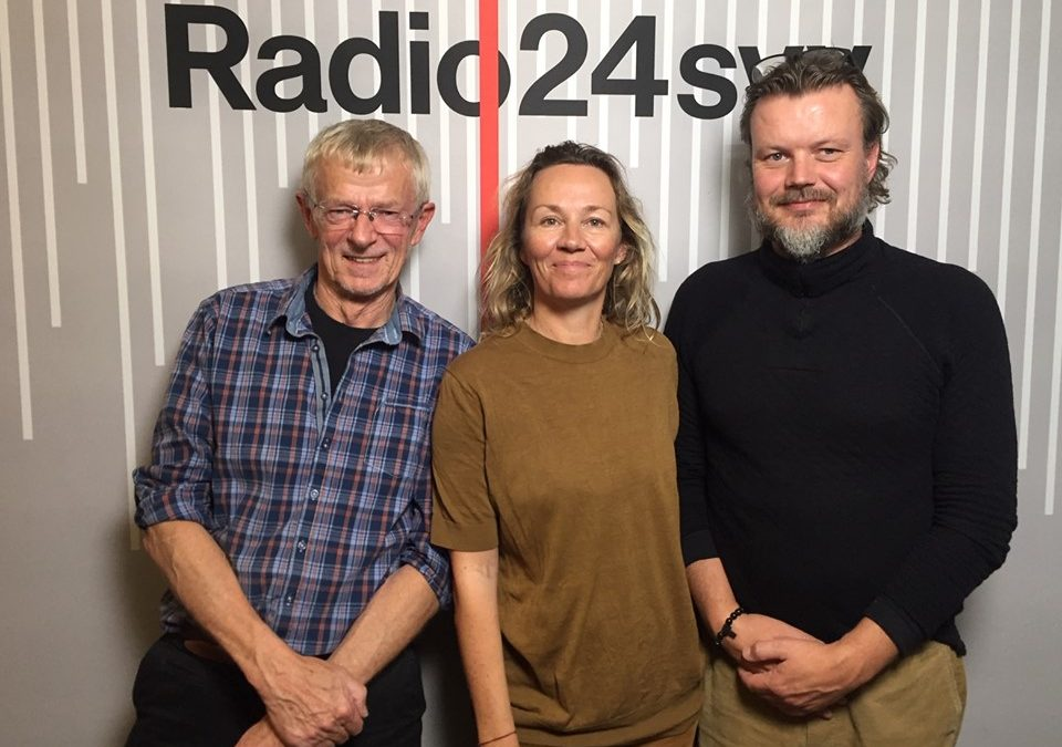 "Listen to Niels Peter Rygaard talk about attachement in the radio programmet ""Forældreintra"" on radio24syv"